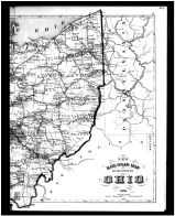 Ohio State Map - Right, Noble County 1879