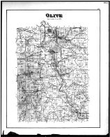 Olive Township, Caldwell, Maurom, Dudley Sta., Moundsville, Noble County 1879
