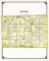 Allen Township, Grand Creek, Turtle Creek, Ottawa County 1900