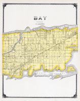 Bay Township, Muddy Creek Bay, Eagle Island, Portage River, Ottawa County 1900
