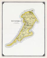 Catawba Island, Ottawa City, Lake Erie, West Harbor, Ottawa County 1900