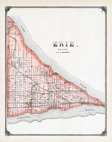 Erie Township, Portage River, Lake Erie, Ottawa County 1900