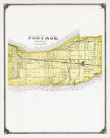 Portage Township, Port Clinton, Gypsum, Ottawa County 1900