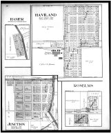 Hamer, Haviland, Roselms, Junction, Paulding County 1917