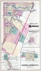 Massillon - First Ward, Richville, New Berlin, North Lawrence, Stark County 1875