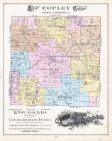 Copley Township, Montrose P.O., Summit County 1891