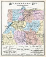 Coventry Township 2, Long Lake, Tuscarawas Reservoir, Nesmita Lake, New Portage, Summit County 1891