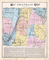 Franklin Township, Manchester, Mud Lake, Summit County 1891