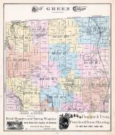 Green Township, Greensburgh Inland P.O., East Liberty, Summit P.O., Comet, Myersville, Summit County 1891