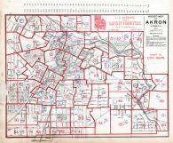Index Map - Akron Street Map, Summit County 1891