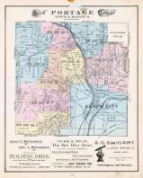 Portage Township 2, Cuyahoga Falls, Akron City, Summit County 1891