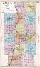 Summit County Map, Summit County 1891