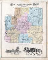 Tallmadge Township, Center, Bettes corners, Akron City, Summit County 1891