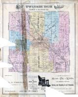Twinsburgh Township, Mill Tract, Summit County 1891