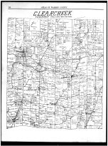 Clearcreek Township, Springboro, Ridgeville, Pekin, Dodds, Red Lion, Warren County 1891