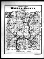 Warren County Geological Map, Warren County 1891