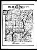Warren County Map, Warren County 1891