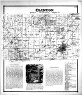 Clinton Township, Big Prairie P.O., Centerville, Shreve, Millbrook, Wayne County and Wooster City 1873
