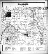 Congress Township, West Salem, Pleasant Grove, Congress Village, Burbank P.O., Wayne County and Wooster City 1873