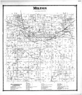 Milton Township, Russell Sta., Amwell P.O., New Prospect, Milton Station, Wayne County and Wooster City 1873