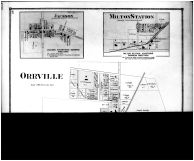 Orrville, Jackson, Milton Station - Above, Wayne County and Wooster City 1873