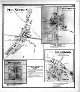 Pike Station, Lattasburg, Moreland, Millbrook, Wayne County and Wooster City 1873