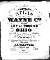 Title Page, Wayne County and Wooster City 1873