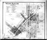 West Salem, Burbank - Above, Wayne County and Wooster City 1873