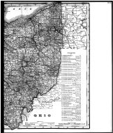 Ohio State Map - Right, Wayne County 1908