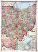 Ohio State Map, Williams County 1918