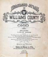 Title Page, Williams County 1918