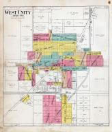 West Unity, Williams County 1918
