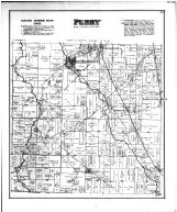 Perry Township, West Mill Grove, Longley Sta., Millgrove Sta., Norris Sta., Wood County 1886