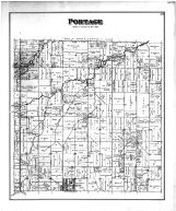 Portage Township, Portage, Mermill P.O.,  Jerry City, Wood County 1886