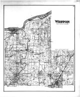 Weston Township, Grand Rapids, Weston, Wood County 1886