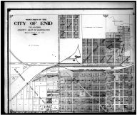Enid City West - Above, Garfield County 1906