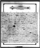 Garfield County Outline Map, Garfield County 1906