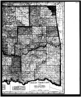 Indian Territory and Oklahoma Map - Right, Garfield County 1906