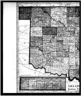 Oklahoma and Indian Territory Left, Grant County 1907