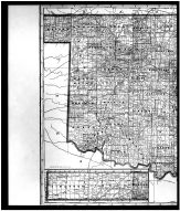 Oklahoma State Map Left, Kay County 1910