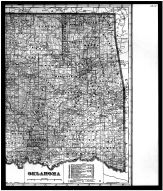 Oklahoma State Map Right, Kay County 1910