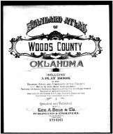 Title Page, Woods County 1906
