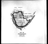 Plate 007 - Pittsburgh - City North Side, Allegheny County 1763 to 1914 Land Surveys