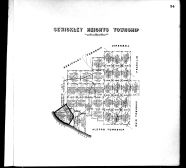 Plate 034 - Sewickley Heights Township, Allegheny County 1763 to 1914 Land Surveys