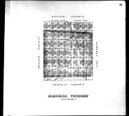 Plate 038 - Marshall Township, Allegheny County 1763 to 1914 Land Surveys