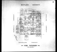 Plate 040 - Pine Township, Allegheny County 1763 to 1914 Land Surveys