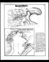 Bradys Bend Township, Brady's Bend, Armstrong County 1876