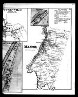 Mahoning and Manor Townships, Oakland, Putneyville, Rosston, Manorville Right, Armstrong County 1876