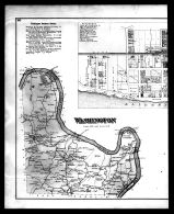 Washington Township, Van Buren, Watersonville, Sherrat P.O. Left, Armstrong County 1876