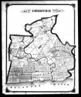 Chester Township, Upland, North Chester, Chester and South Chester, Delaware County 1870